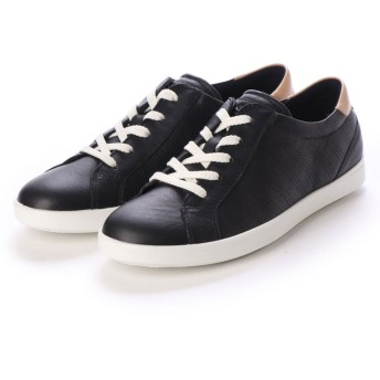 エコー ECCO LEISURE Shoe (BLACK/POWDER)