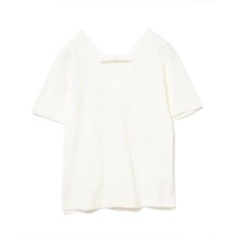 RBS / センター シーム Vネック Tシャツ レディース Tシャツ WHITE ONE SIZE