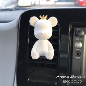 アロマストーン【車用】Bear クラウン