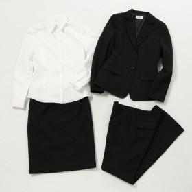 【ピュアラスト】就活4点スーツ(レディース) ブラック