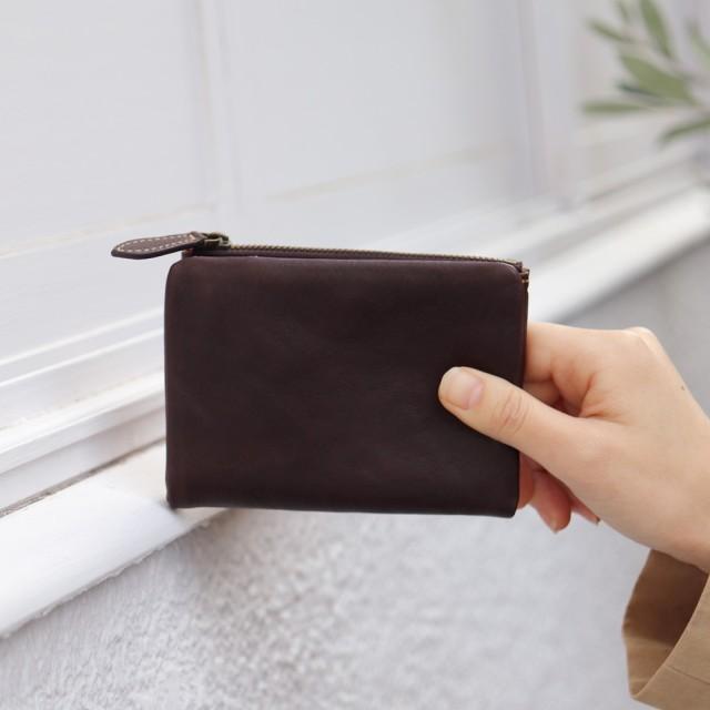 a115c076a914 長財布 - ninon 二つ折り財布 レディース 本革 黒 財布 二つ折り 小さい ...