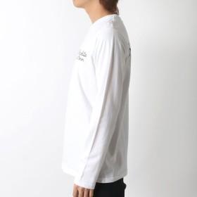 Tシャツ - MARUKAWA Tシャツ メンズ 春 ルード プリント 長袖 ホワイト/ブラック/ネイビー M/L/LL【 ドクロ スカル ティーシャツ クルーネックアメカジ ストリート カジュアル】
