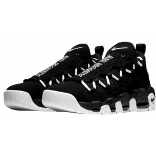 buy popular 3d855 dbfac ナイキ メンズ スニーカー Nike Air More Money エア モアマネー Black White