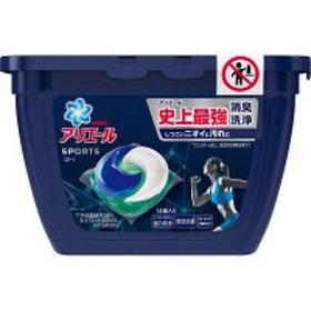 アリエール ジェルボール3Dプラチナスポーツ 本体 1個(14粒入) 洗濯洗剤 P&G