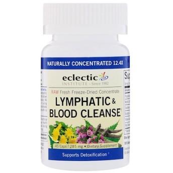 リンパ & 血液 クレンズ、285 mg、ベジカプセル45個