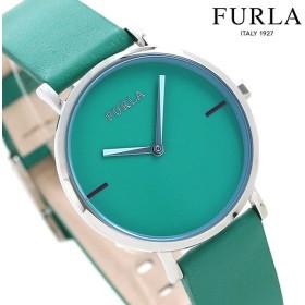 先着1,000円割引クーポン フルラ 時計 ジャーダ カラーズ 33mm レディース 腕時計 4251113516 FURLA グリーン 革ベルト
