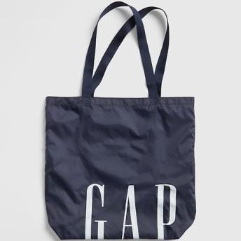 Gap ロゴ パッカブルトート