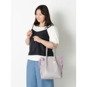 【大きいサイズレディース】インナーポーチ付トートバッグ(ブレイリー)【A4対応】 バッグ・財布・小物入れ トートバッグ