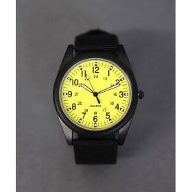 ニノン ミリタリーウォッチ / ユニセックス腕時計 レディース レディース イエロー ワンサイズ 【ninon】
