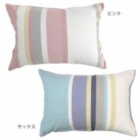 メリーナイトスロー 先染め 枕カバー ピロケース ストックマン 43×63cm ピンク・MN61012-16 寝具 寝装・寝具