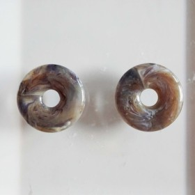 1970's Donuts Beads (2pcs)