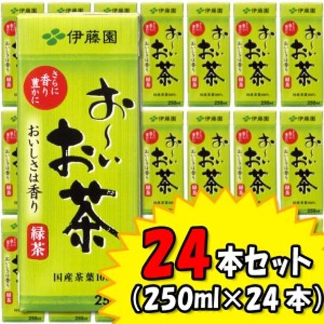▼【219450】お~いお茶 テトラパック 250ml 24本【TC】