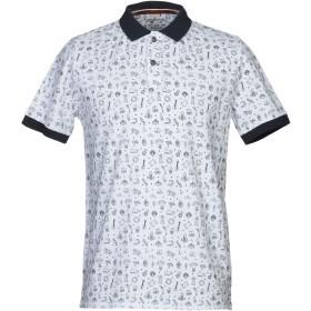 《期間限定セール開催中!》IN MY HOOD メンズ ポロシャツ ホワイト S コットン 100%