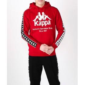 <カッパ/Kappa> Kappa BANDA 紳士パーカ(K08Y2MT65M) レッド 【三越・伊勢丹/公式】