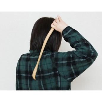 木製(天然木・ブナ材)孫の手 ナチュラル 44cm (まごのて まごの手 敬老の日) 001-3209