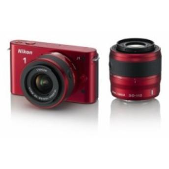 Nikon ミラーレス一眼カメラ Nikon 1 (ニコンワン) J1 (ジェイワン) ダブル(中古品)