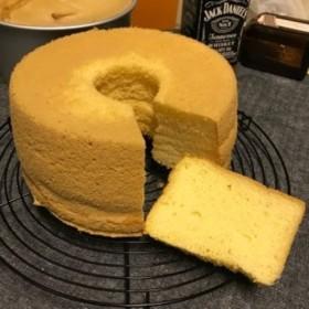 米粉のシフォンケーキ(塩バニラホール)