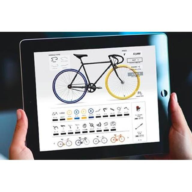 10兆×10億通りから世界に1台のオリジナル自転車をCocci Pedaleで作ろう(015)