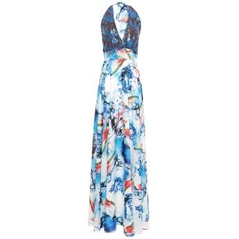 《セール開催中》TWINS BEACH COUTURE レディース ロングワンピース&ドレス ブルー 8 ポリエステル 100%