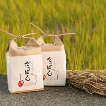 だっぱん米 龍馬脱藩の道がある村でとれたお米 にこまる(精米2kg×2袋)