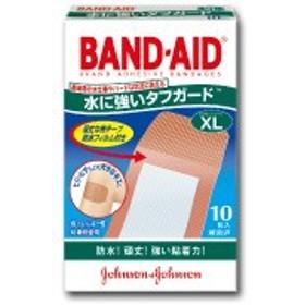 ▼バンドエイド【BAND-AID】水に強いタフガードエクストララージ 10枚【p.i.p】【D】