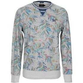 《期間限定 セール開催中》PEPE JEANS メンズ スウェットシャツ グレー S コットン 100%