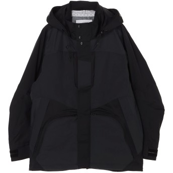 White Mountaineering SAITOS 3L RAGLAN PARKA マウンテンパーカー,ブラック
