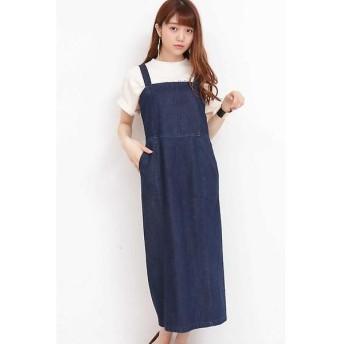 N.Natural Beauty Basic / エヌ ナチュラルビューティーベーシック ロングタイトジャンパースカート