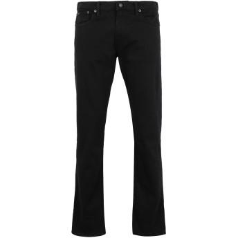 《9/20まで! 限定セール開催中》POLO RALPH LAUREN メンズ ジーンズ ブラック 31W-34L コットン 99% / ポリウレタン 1% Sullivan Slim Stretch Jean