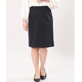 CLEAR IMPRESSION クリアインプレッション ピンストライプタイトスカート