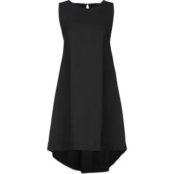 《セール開催中》ANNIE P. レディース ミニワンピース&ドレス ブラック 38 ポリエステル 100%