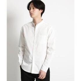 THE SHOP TK / ザ ショップ ティーケー バンドカラーシャツ