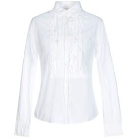 《セール開催中》COAST WEBER & AHAUS レディース シャツ ホワイト 44 コットン 97% / ポリウレタン 3%