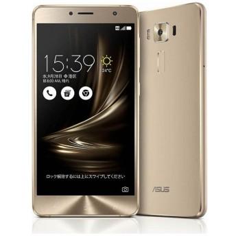 ZenFone3 Deluxe Series「ZS550KL-GD64S4」 ゴールド Snapdragon 625 5.5型・メモリ/ストレージ:4GB/64GB microSIM×1、nano×1 ドコモ/au/Ymobile SIM対応 SIMフリースマートフォン