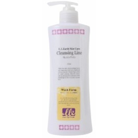 LLE ウォッシュフォーム 業務用 450ml 洗顔 洗顔料 クリームタイプ アロエベラ エステ用品 サロン用品