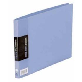 クリアーファイル カラーベース A5 E型 115EC 青[115ECアオ](アオ)