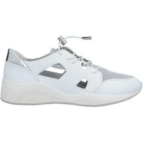 《期間限定 セール開催中》GEOX レディース スニーカー&テニスシューズ(ローカット) ホワイト 35 革 / 紡績繊維