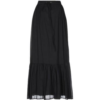 《セール開催中》ESSENTIEL ANTWERP レディース ロングスカート ブラック 36 コットン 100%