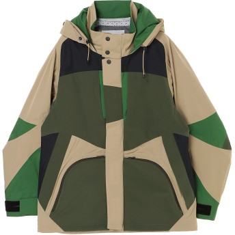 White Mountaineering SAITOS 3L RAGLAN PARKA マウンテンパーカー,ベージュ