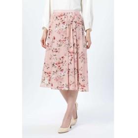 NATURAL BEAUTY / ウォーターフラワープリントスカート