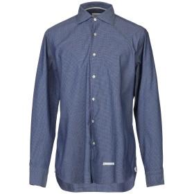 《期間限定セール開催中!》TINTORIA MATTEI 954 メンズ シャツ ブルー 40 コットン 97% / ポリウレタン 3%