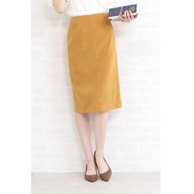 N.Natural Beauty Basic / エヌ ナチュラルビューティーベーシック ピーチスウェードタイトスカート
