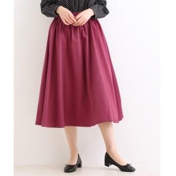 NIMES / ニーム ツイル ギャザースカート