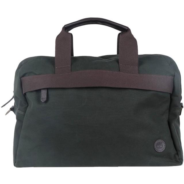 《セール開催中》TIMBERLAND メンズ 旅行バッグ ミリタリーグリーン 紡績繊維