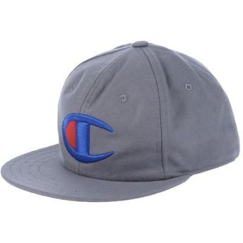 《期間限定セール開催中!》CHAMPION メンズ 帽子 グレー M ウール 80% / ナイロン 20%
