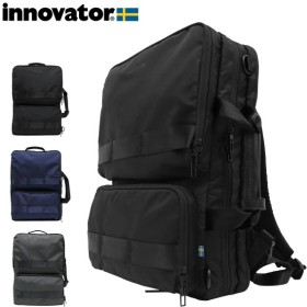 イノベーター リュック 大容量 タフ メンズ INB-002 INNOVATOR | リュックサック バックパック 3WAY スクエア 軽量 撥水 ナイロン
