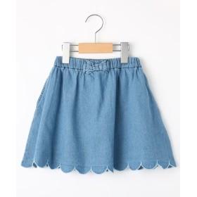SHOO・LA・RUE/Kids(シューラルー /キッズ) 【80-150cm/WEB限定サイズあり/】デニムショートパンツ付スカート