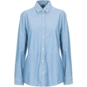 《セール開催中》P_JEAN レディース デニムシャツ ブルー 36 コットン 100% / アセテート