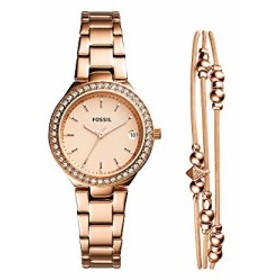 50c67a0c7d 【当店1年保証】フォッシルFossil Women's Blane Quartz Watch with Stainless-Steel