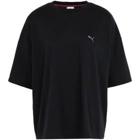 《セール開催中》PUMA レディース T シャツ ブラック XS ポリエステル 85% / コットン 15% SG x PUMA Tee